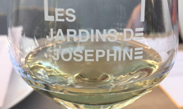Déjeuner de presse au jardin De Joséphine